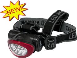 New 10 LED Headlamp